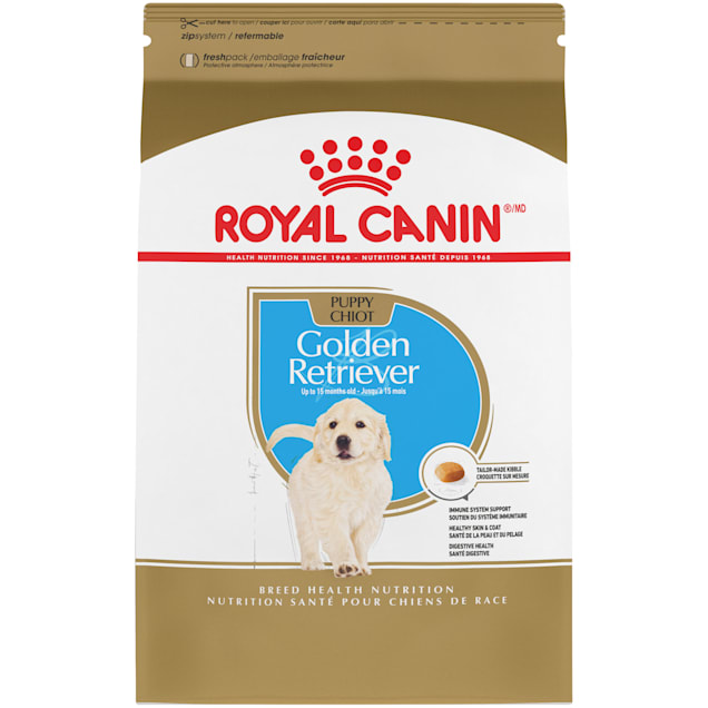 Royal Canin Breed Health Nutrition Golden Retriever Puppy Dry Dog Food, 30 lbs. - Carousel image #1