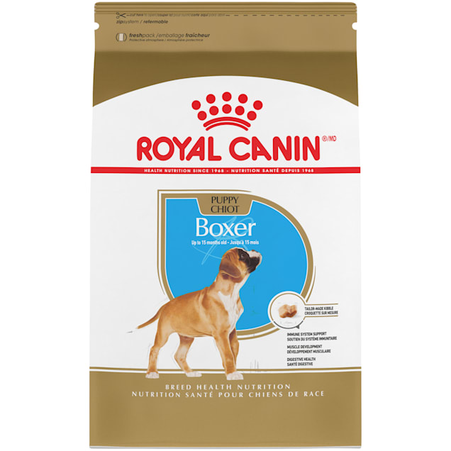Royal Canin Breed Health Nutrition Boxer Puppy Dry Dog Food, 30 lbs. - Carousel image #1