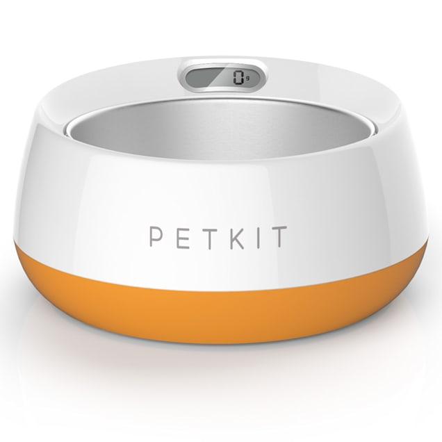 PetKit FRESH Metal Smart Digital Feeding Pet Bowl - Orange - Carousel image #1