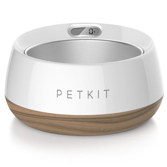 PetKit FRESH Metal Smart Digital Feeding Pet Bowl - Wood - Carousel image #1