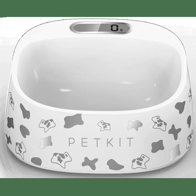 PetKit FRESH Smart Digital Feeding Pet Bowl -  Black & White - Carousel image #1