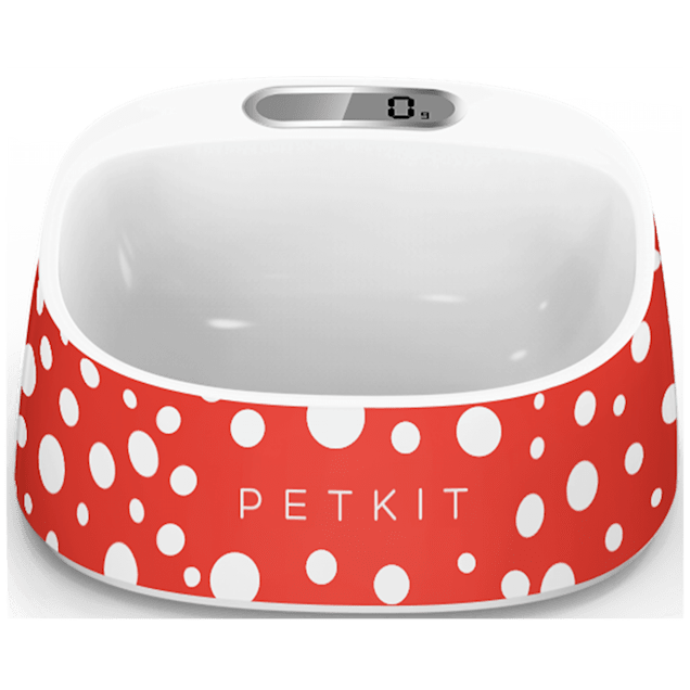 PetKit FRESH Smart Digital Feeding Pet Bowl - Red - Carousel image #1