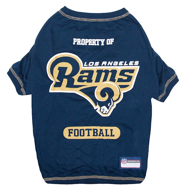 Pets First Los Angeles Rams T-Shirt, X-Small - Carousel image #1