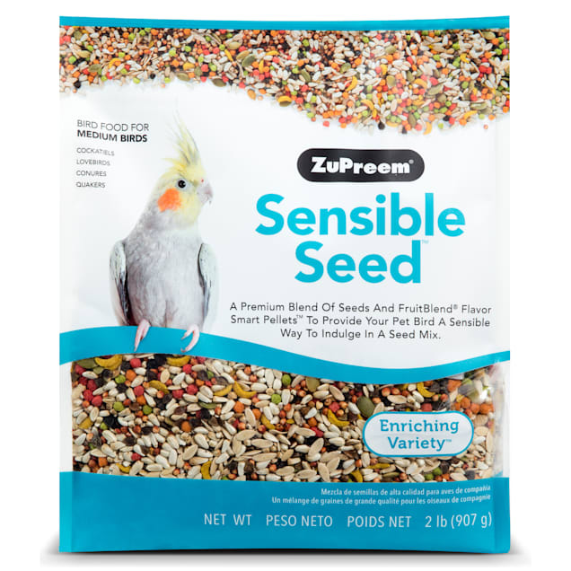 ZuPreem Sensible Seed Bird Food for Medium Birds, 2 lbs. - Carousel image #1