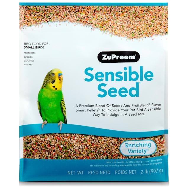 ZuPreem Sensible Seed Bird Food for Small Birds, 2 lbs. - Carousel image #1