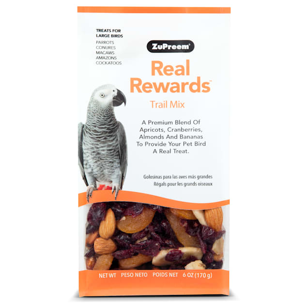 ZuPreem Real Rewards Trail Mix Treats for Large Birds - Carousel image #1