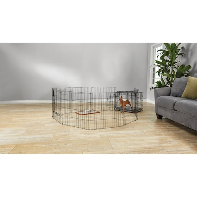 """You & Me Adjustable Exercise Pen, 24"""" - Carousel image #1"""