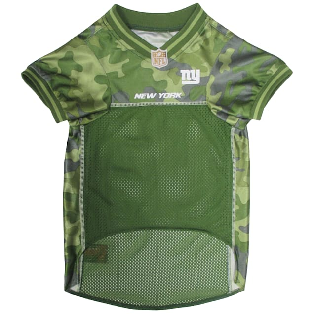 Pets First New York Giants Camo Jersey, X-Small - Carousel image #1