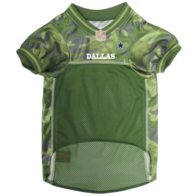 Pets First Dallas Cowboys Camo Jersey, XSmall - Carousel image #1