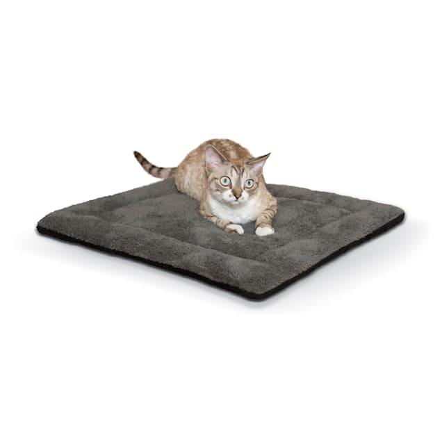 "K&H Gray and Black Self Warming Pet Pad, 21"" L x 17"" W - Carousel image #1"