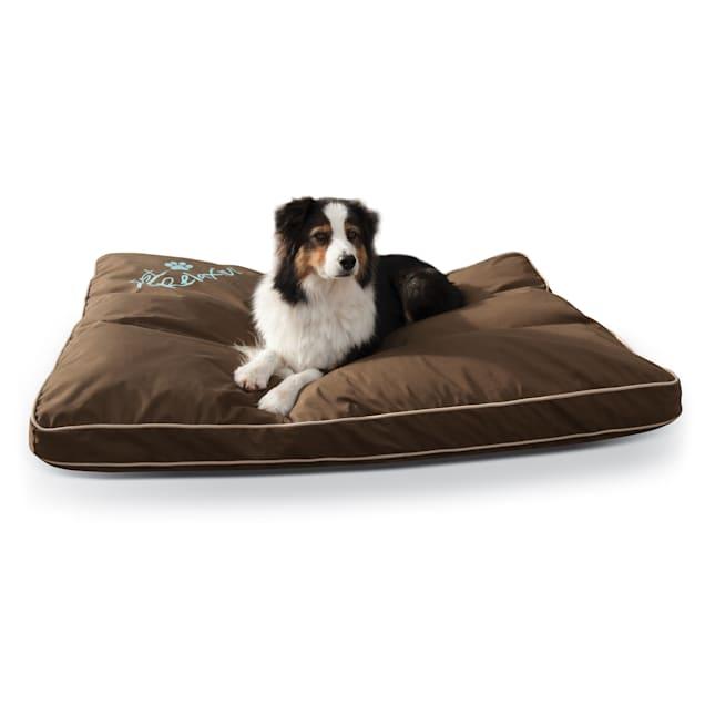 "K&H Brown Just Relaxin' Indoor/Outdoor Pet Bed, 48"" L x 36"" W - Carousel image #1"