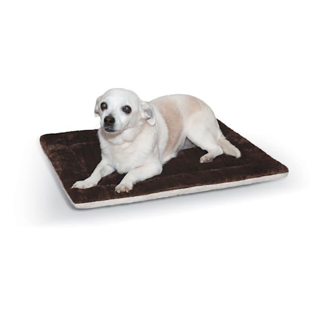 "K&H Oatmeal and Chocolate Self Warming Pet Pad, 21"" L x 17"" W - Carousel image #1"