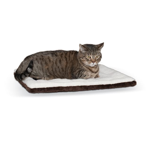 "K&H Oatmeal and Chocolate Self Warming Pet Pad, 21"" L x 17"" W - Carousel image #1"