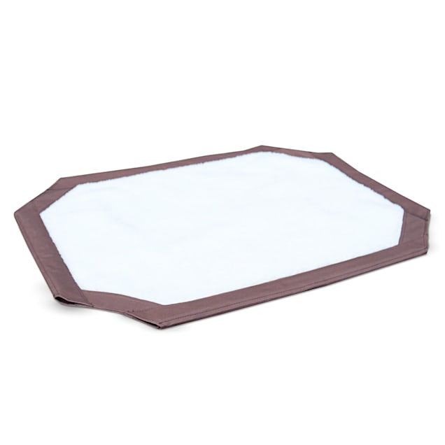 """K&H Brown and White Self-Warming Pet Cot Cover, 42"""" L x 30"""" W - Carousel image #1"""