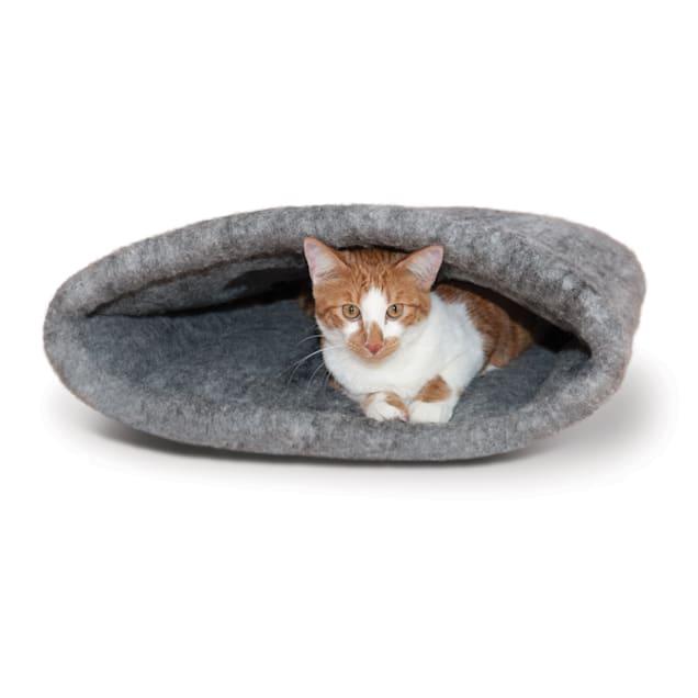 "K&H Gray Amazin' Cat Sack, 22"" L x 20"" W - Carousel image #1"