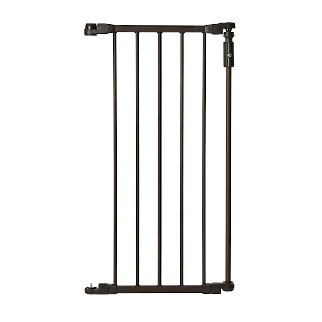 North States Windsor Wide Arch Petgate 6-Bar Bronze Extension - Carousel image #1