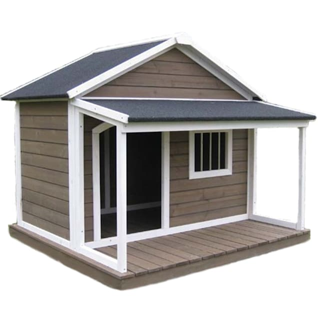 Houses & Paws House Town Pet House, Large - Carousel image #1