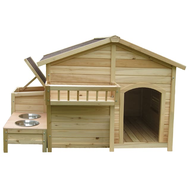 Houses & Paws Country Charm Pet House, Large - Carousel image #1