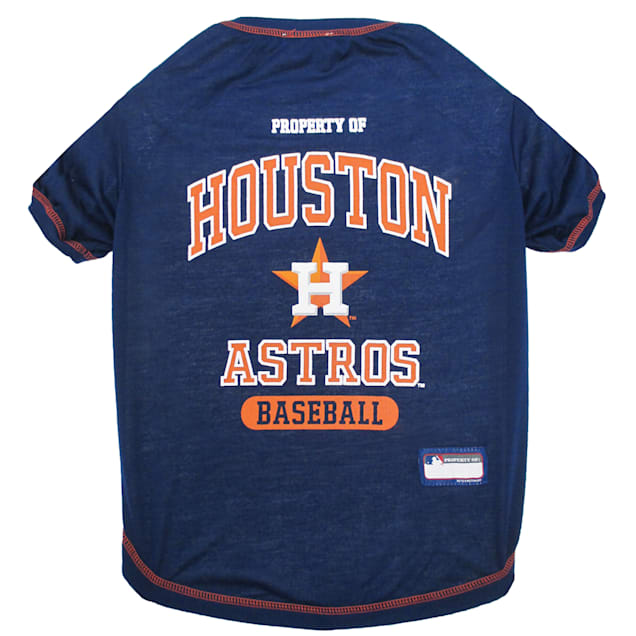 Pets First Houston Astros T-Shirt, X-Small - Carousel image #1