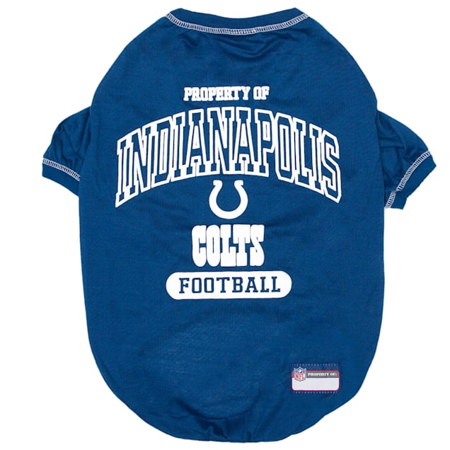 Pets First Indianapolis Colts Dog T-Shirt, X-Small - Carousel image #1