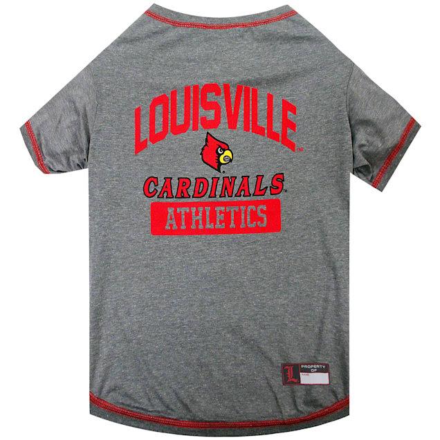 Pets First NCAA Louisville Cardinals Dog T-Shirt, X-Large - Carousel image #1