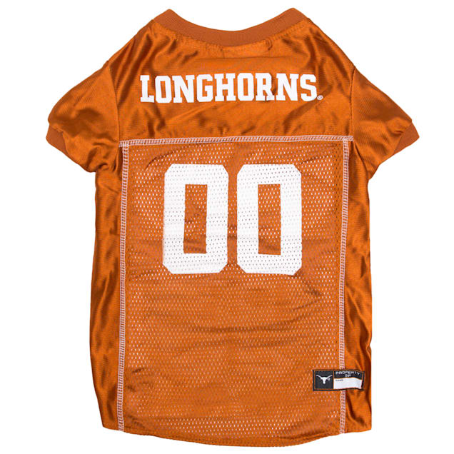 Pets First Texas Longhorns NCAA Mesh Jersey, X-Small - Carousel image #1