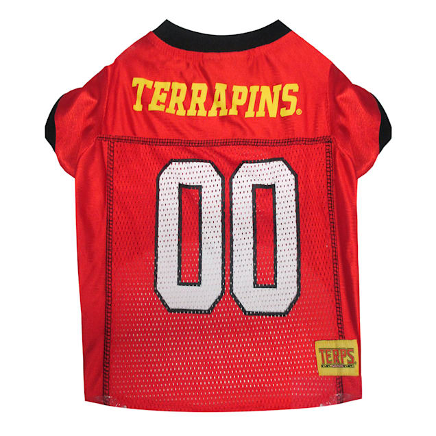 Pets First Maryland Terrapins NCAA Mesh Jersey for Dogs, X-Small - Carousel image #1