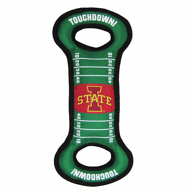 Pets First Iowa State Cyclones Field Tug Dog Toy, Medium - Carousel image #1