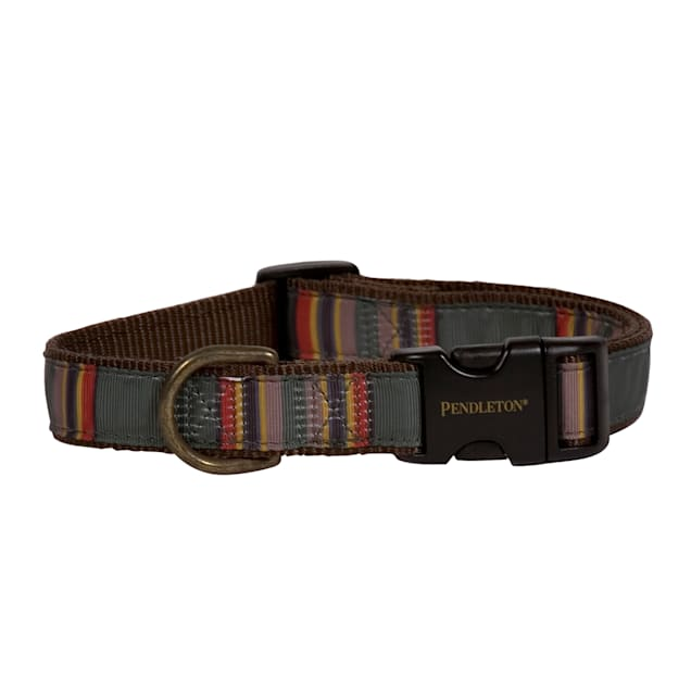 Pendleton Yakima Camp Green National Park Hiker Dog Collar, Large - Carousel image #1