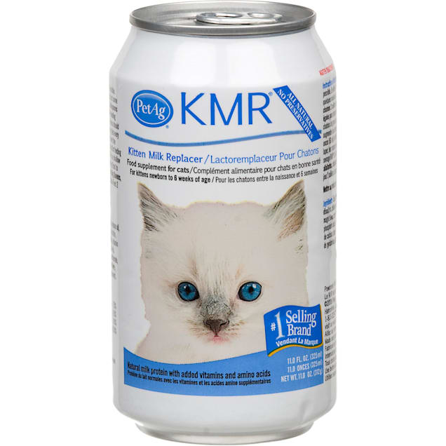 PetAg KMR Kitten Milk Replacer Liquid, 11 oz. - Carousel image #1