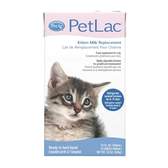 PetAg PetLac Kitten Liquid Milk Replacement, 32 fl. oz. - Carousel image #1