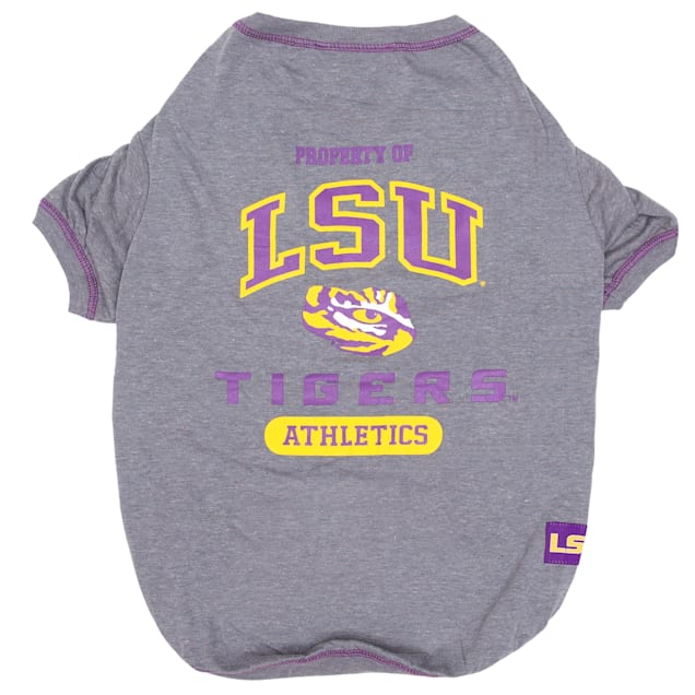 Pets First LSU Tigers NCAA T-Shirt for Dogs, X-Small - Carousel image #1