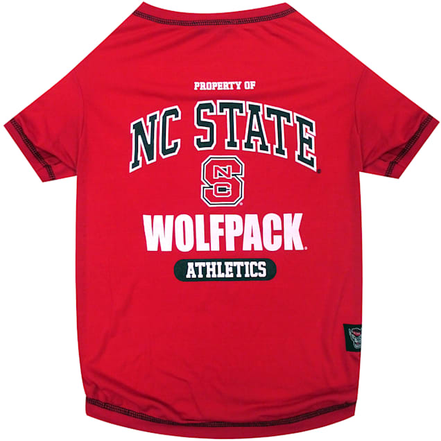 Pets First NC State Wolfpack NCAA T-Shirt for Dogs, X-Small - Carousel image #1