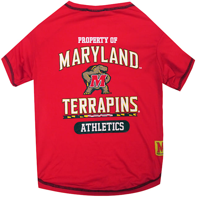 Pets First Maryland Terrapins NCAA T-Shirt, X-Small - Carousel image #1