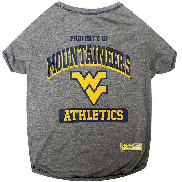 Pets First West Virginia Mountaineers NCAA T-Shirt for Dogs, X-Small - Carousel image #1