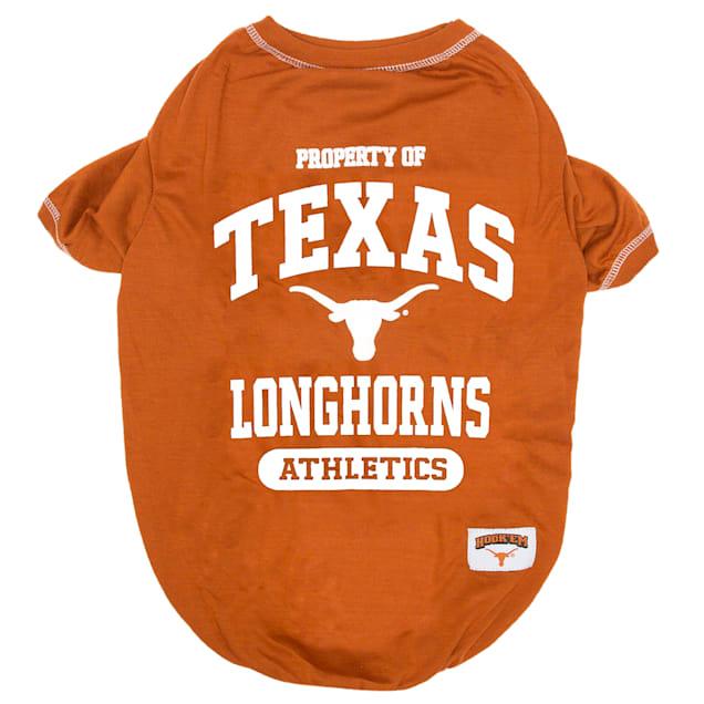 Pets First Texas Longhorns NCAA T-Shirt, X-Small - Carousel image #1