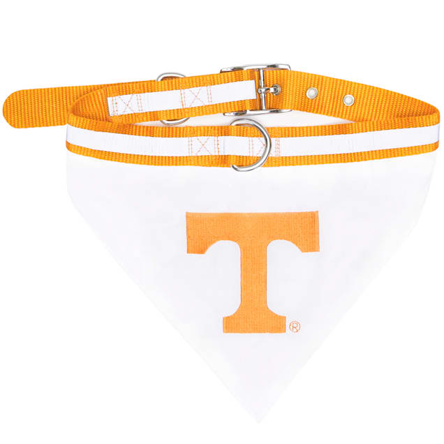 Tennessee Volunteers NCAA Dog Collar Bandana, Small - Carousel image #1