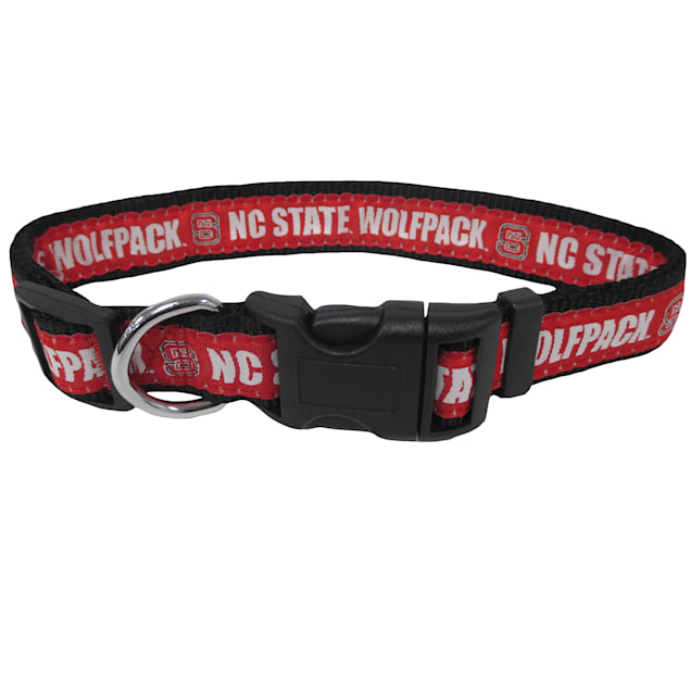 Pets First NC State Wolfpack NCAA Dog Collar, Small - Carousel image #1