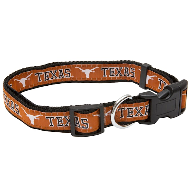 Texas Longhorns NCAA Dog Collar, Small - Carousel image #1