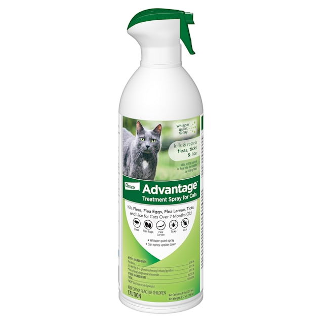 Advantage Flea & Tick Treatment Spray for Cats, 8 fl. oz. - Carousel image #1