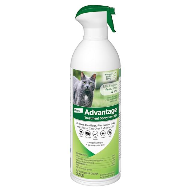 Advantage Flea & Tick Treatment Spray for Cats, 8 fl. oz. - Carousel image #1