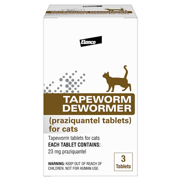 Bayer Tapeworm Dewormer Tablets for Cats, 3 pack - Carousel image #1