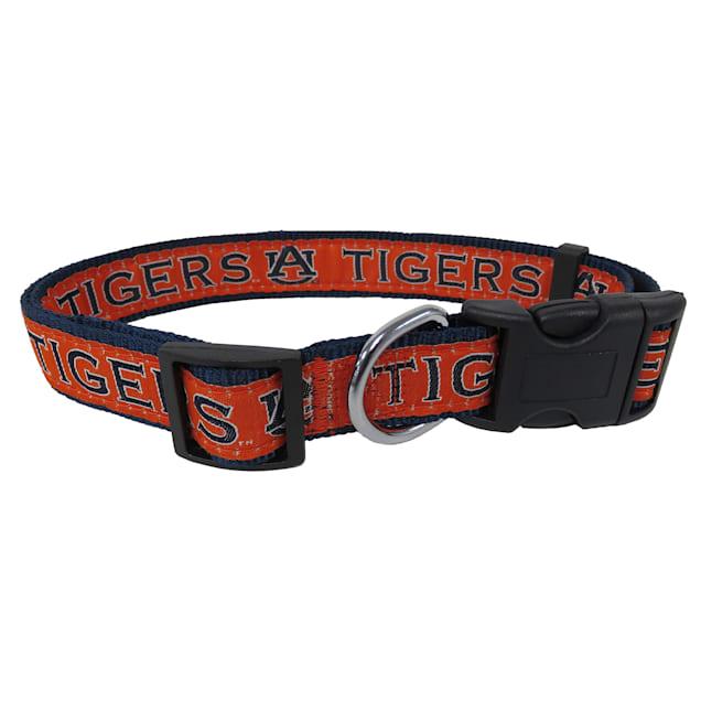 Pets First Auburn Tigers NCAA Dog Collar, Small - Carousel image #1
