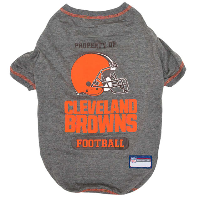 Pets First Cleveland Browns T-Shirt, X-Small - Carousel image #1