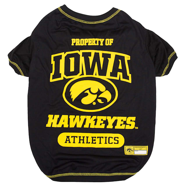 Pets First Iowa Hawkeyes NCAA T-Shirt for Dogs, X-Small - Carousel image #1