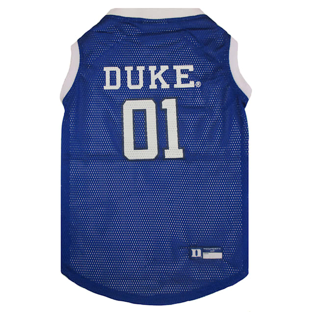 Pets First Duke Blue Devils NCAA Mesh Jersey for Dogs, X-Small - Carousel image #1