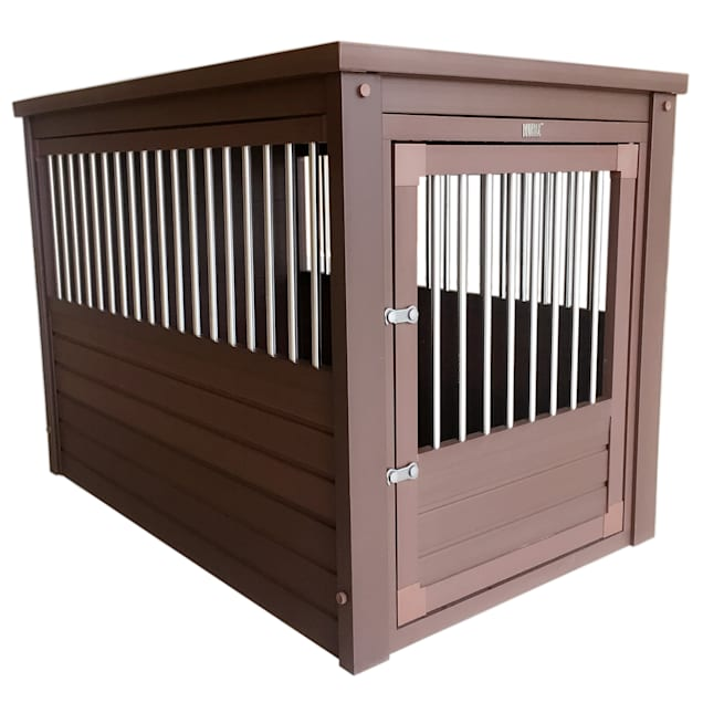 """New Age Pet EcoFlex InnPlace Crate in Russet, 36"""" L X 24"""" W X 28"""" H - Carousel image #1"""