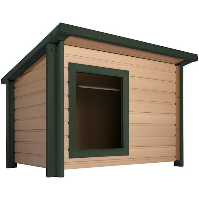 New Age Pet Rustic Lodge Dog House, Medium - Carousel image #1