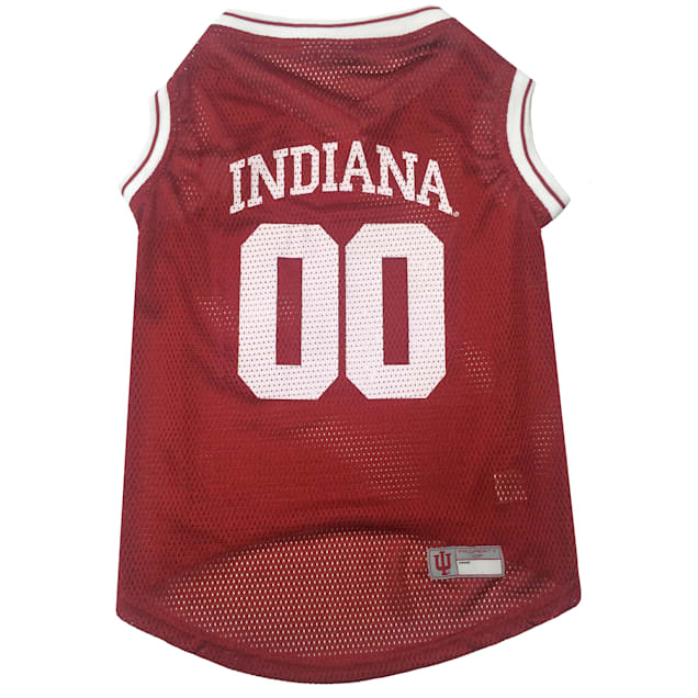 Pets First Indiana Hoosiers NCAA Mesh Jersey For Dogs, X-Small - Carousel image #1