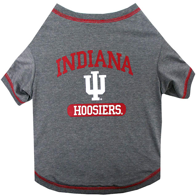 Pets First Indiana Hoosiers NCAA T-Shirt for Dogs, X-Small - Carousel image #1